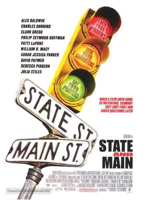 State and Main - Movie Poster