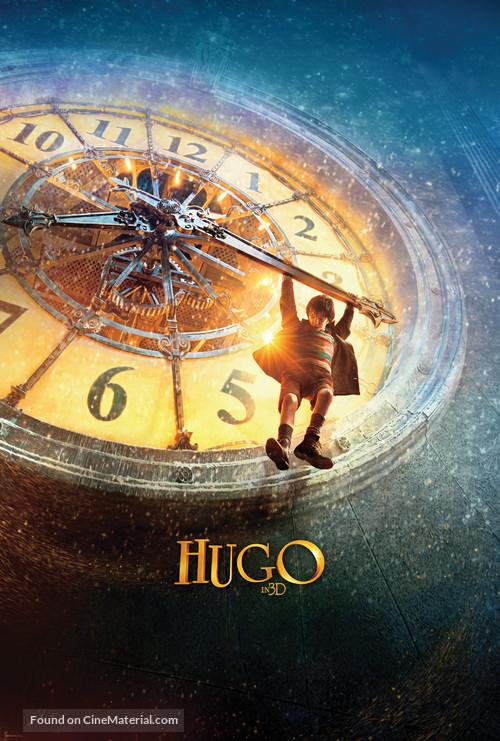 Hugo - Never printed movie poster