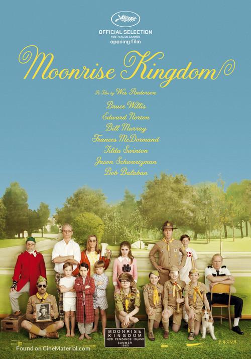 Moonrise Kingdom - Dutch Movie Poster