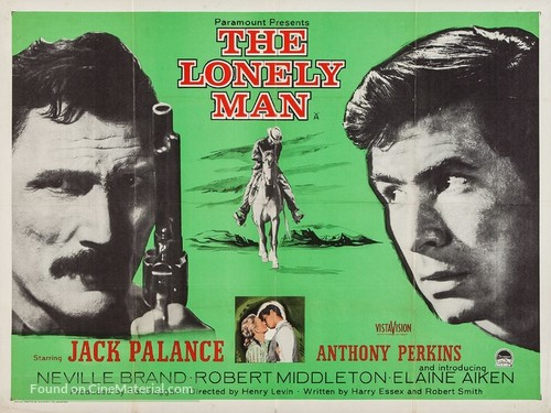 The Lonely Man - British Movie Poster