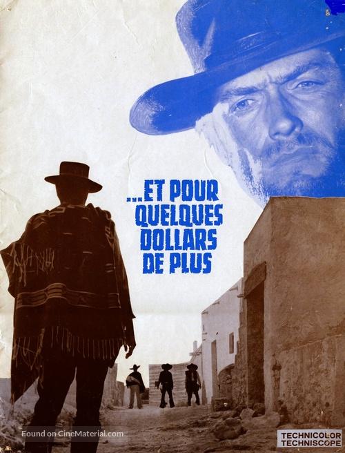 Per qualche dollaro in più - French poster