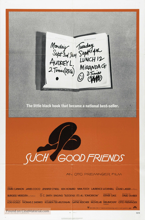 Such Good Friends - Movie Poster