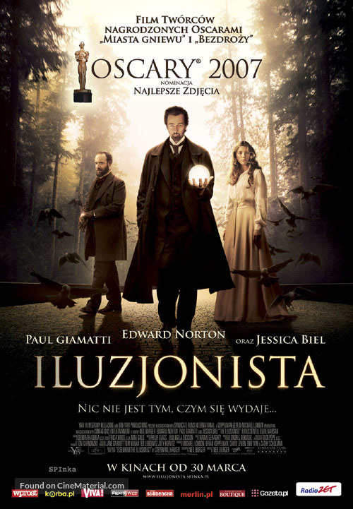 The Illusionist - Polish Movie Poster