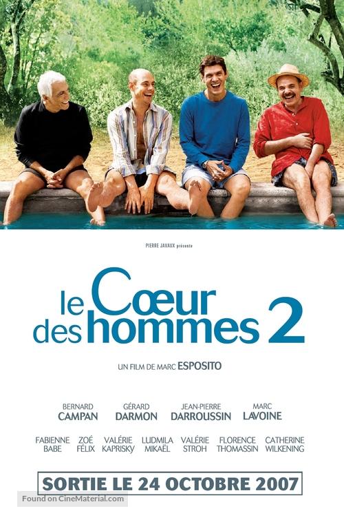 Coeur des hommes 2, Le - French poster