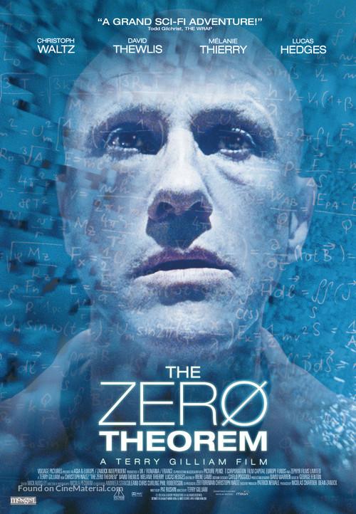 The Zero Theorem - Canadian Movie Poster