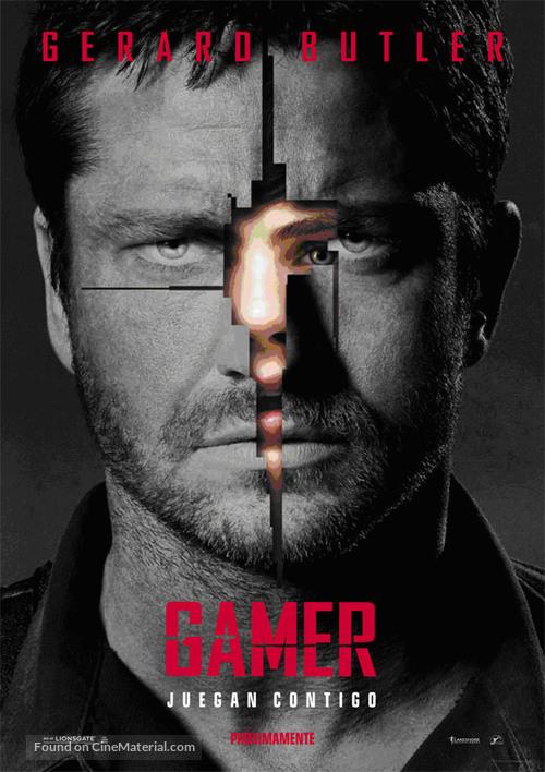 Gamer - Spanish Movie Poster