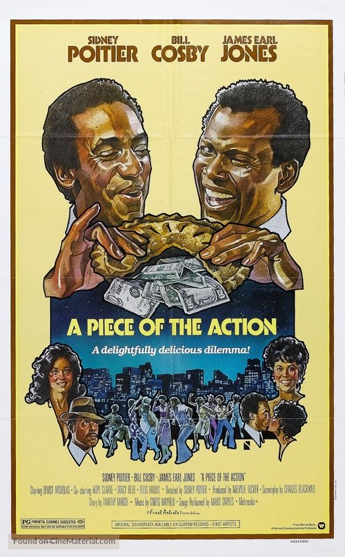 A Piece of the Action - Movie Poster