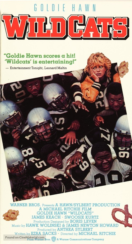 Wildcats - VHS movie cover