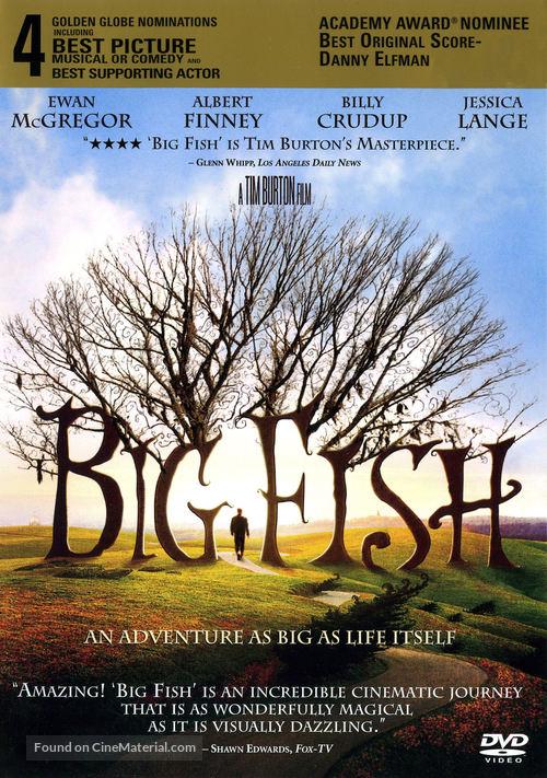Big Fish - DVD movie cover