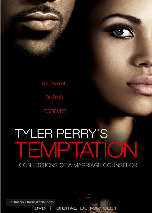 Temptation: Confessions of a Marriage Counselor - DVD movie cover