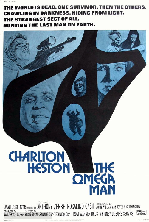 The Omega Man - Movie Poster