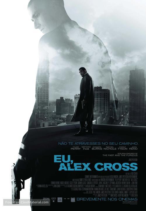Alex Cross - Portuguese Movie Poster