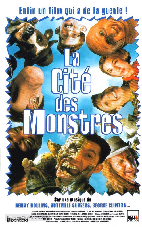 Freaked - French VHS movie cover
