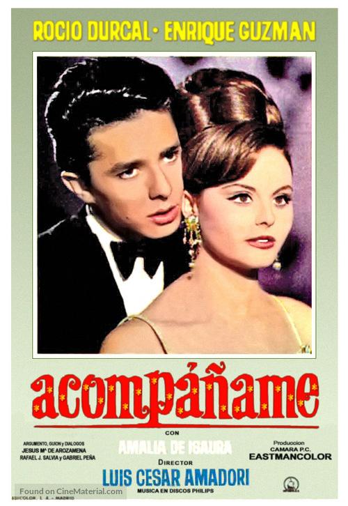 Acompáñame - Spanish Movie Poster