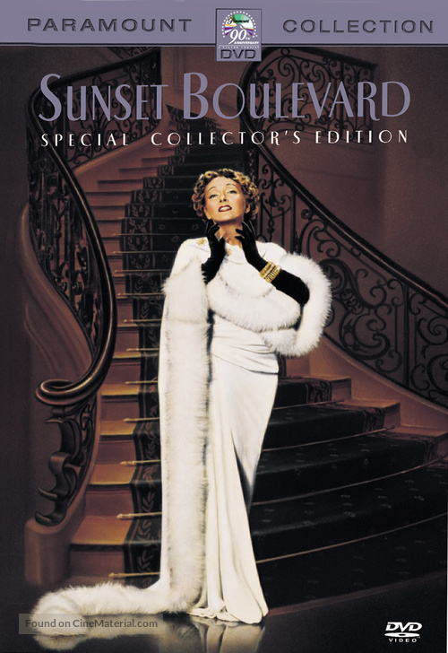 Sunset Blvd. - DVD movie cover