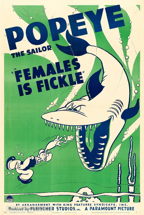 Females Is Fickle - Movie Poster
