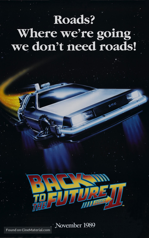 Back to the Future Part II - Teaser movie poster
