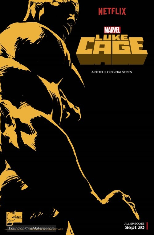 """Luke Cage"" - Movie Poster"