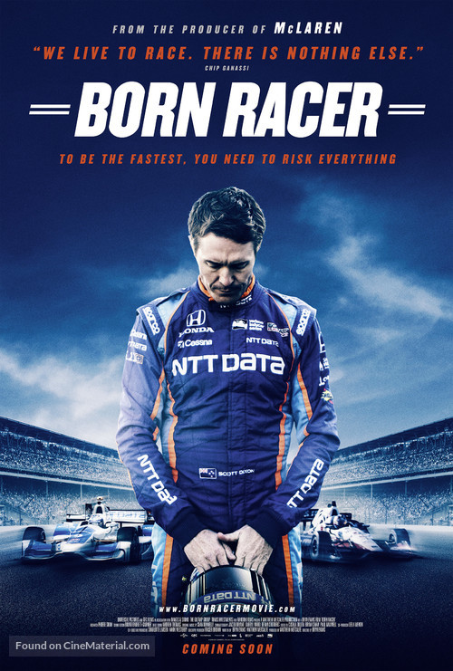 Born Racer - New Zealand Movie Poster
