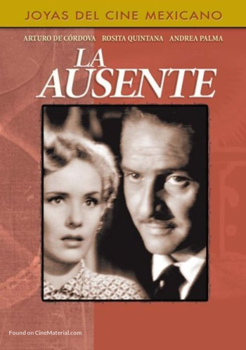 La ausente - Mexican Movie Cover