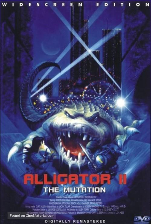 Alligator II: The Mutation - DVD movie cover