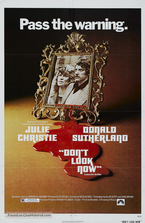 Don't Look Now - Movie Poster