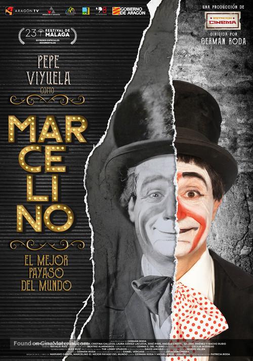 Marcelino, el mejor payaso del mundo - Spanish Movie Poster