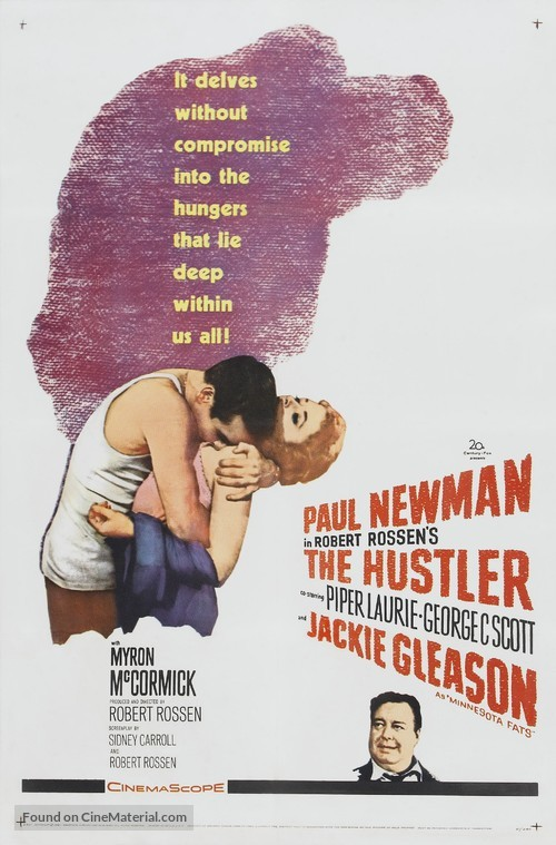 The Hustler - Movie Poster