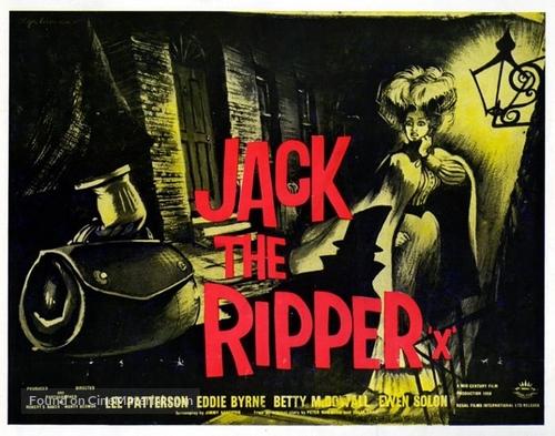 Jack the Ripper - British Movie Poster