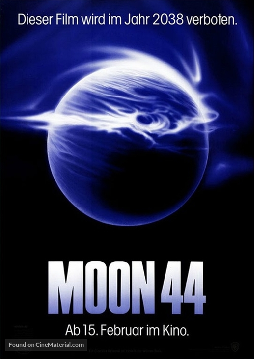 Moon 44 - German Movie Poster