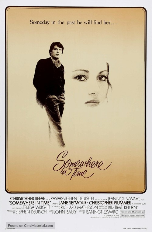 Somewhere in Time - Theatrical poster