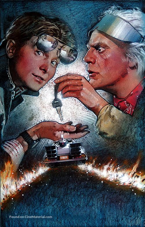 Back to the Future Part II - Key art