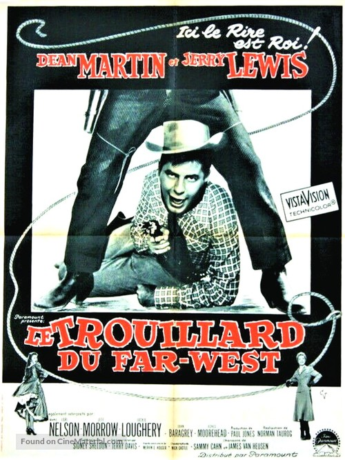 Pardners - French Movie Poster