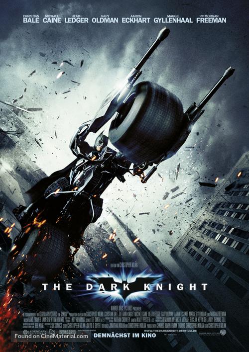 The Dark Knight - German Movie Poster