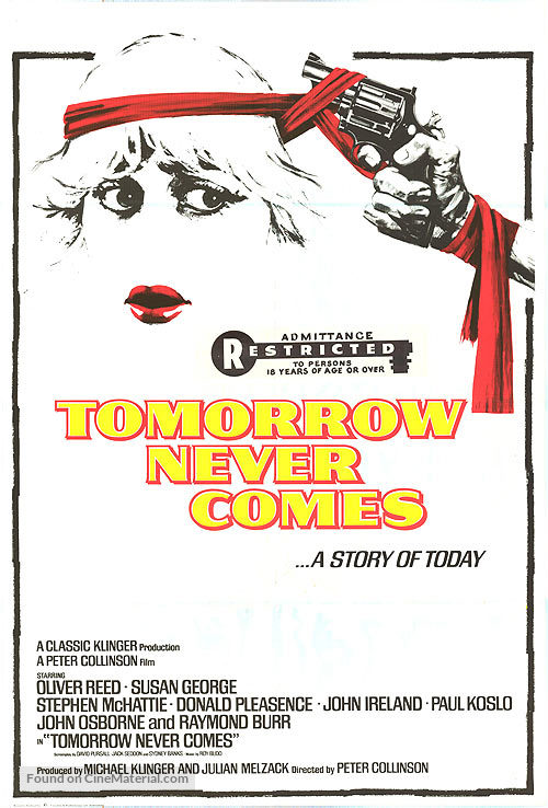 Tomorrow Never Comes - Canadian Movie Poster