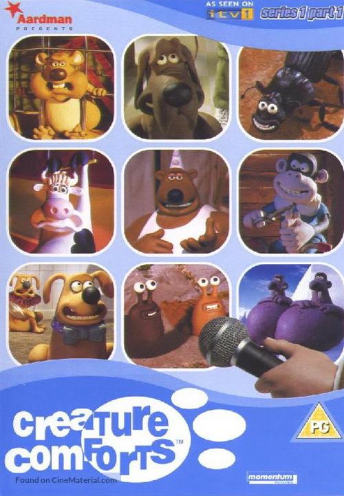 """Creature Comforts"" - British DVD movie cover"