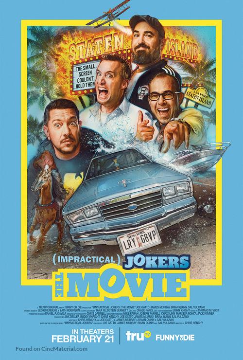Impractical Jokers: The Movie - Movie Poster