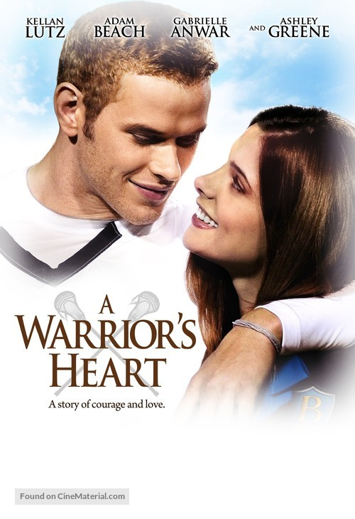 A Warrior's Heart - DVD movie cover