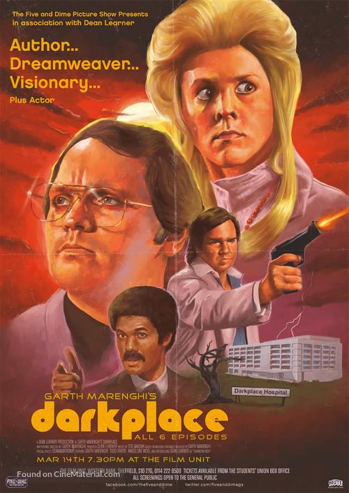 """""""Garth Marenghi's Darkplace"""" - British Movie Poster"""