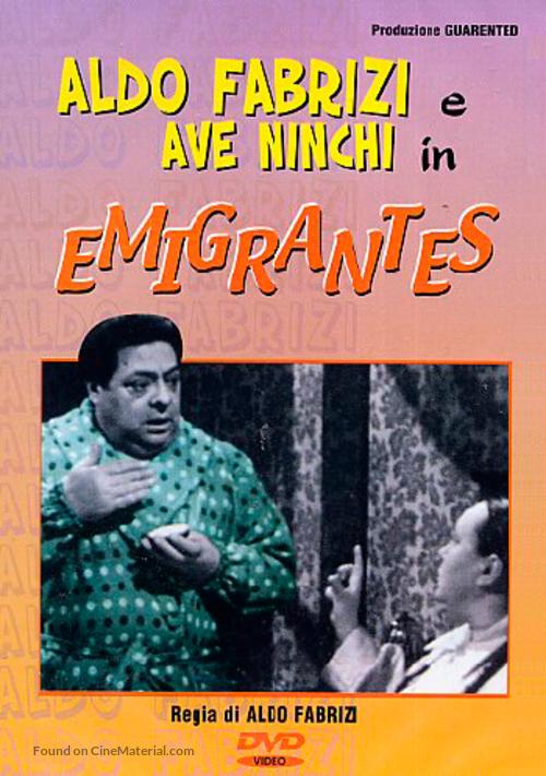 Emigrantes - Italian DVD movie cover