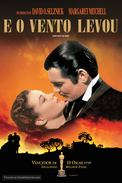 Gone with the Wind - Brazilian DVD movie cover