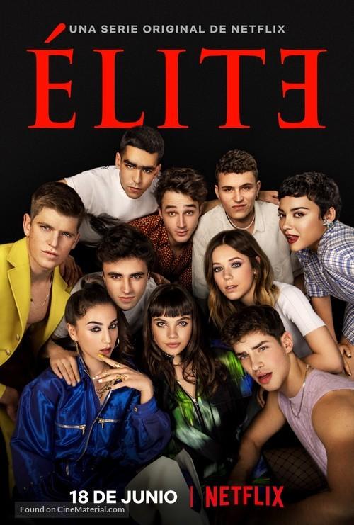 """""""Élite"""" - Spanish Movie Poster"""