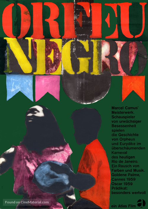 Orfeu Negro - German Movie Poster