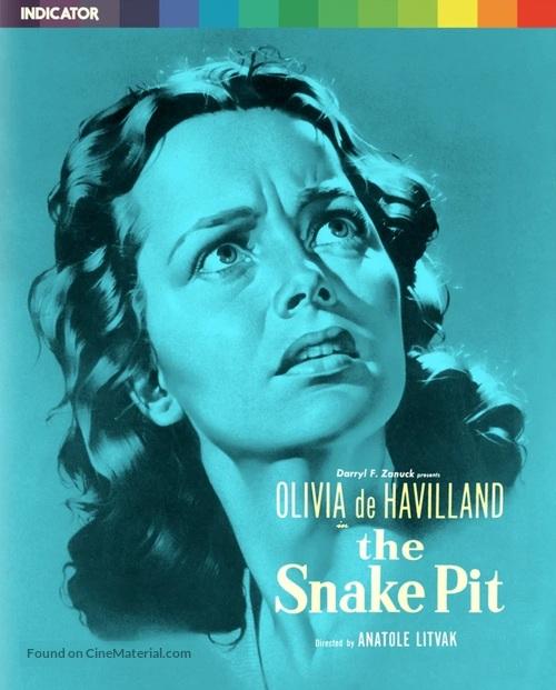 The Snake Pit - British Movie Cover