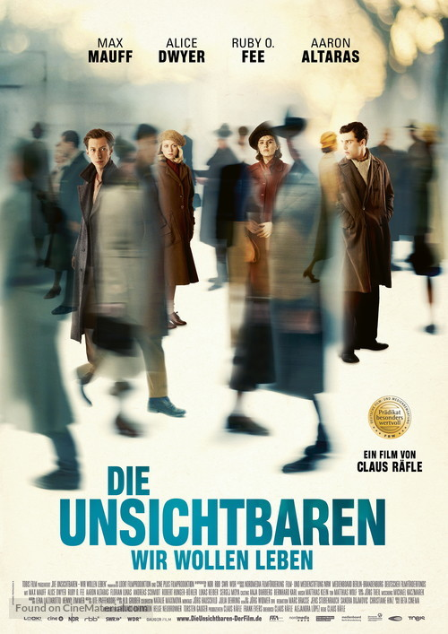 Die Unsichtbaren - German Movie Poster