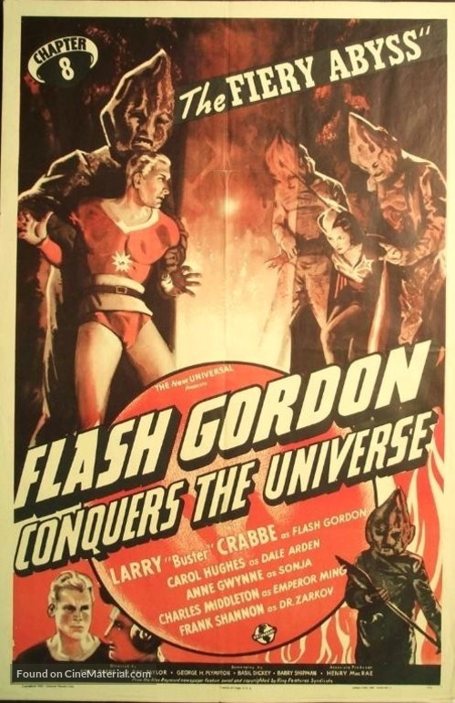 Flash Gordon Conquers the Universe - Movie Poster