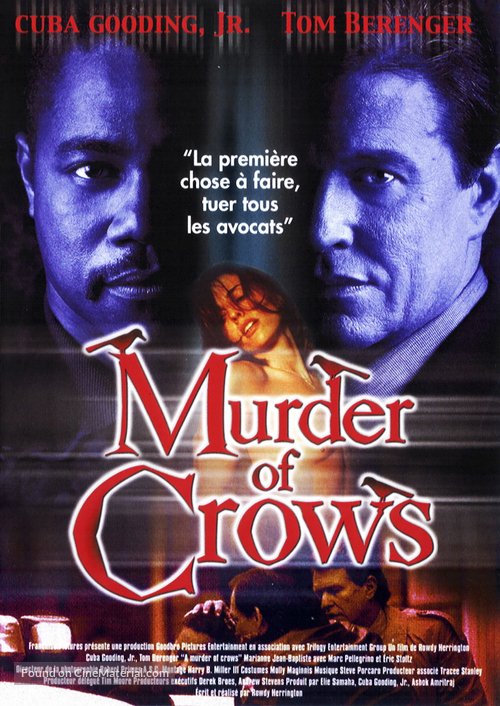 A Murder of Crows - French Movie Poster