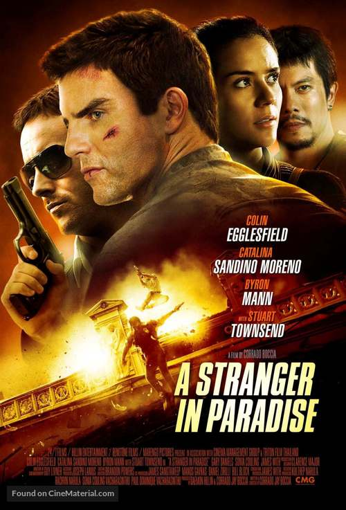 A Stranger in Paradise - Movie Poster