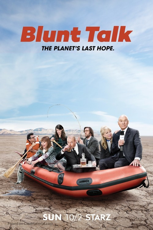 """Blunt Talk"" - Movie Poster"