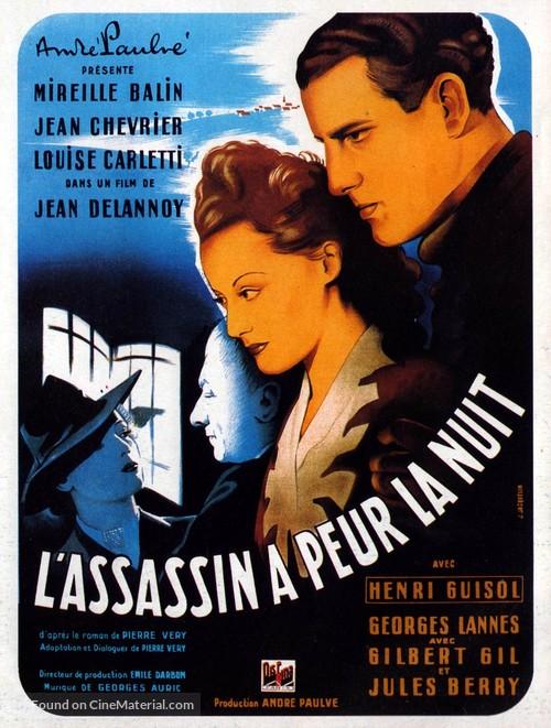 Assassin a peur la nuit, L' - French Movie Poster